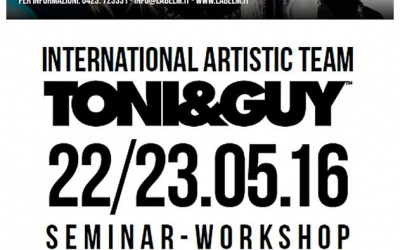 label.m e TONI&GUY Seminar/Workshop 2016